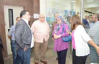 رئيس جامعة عين شمس يتفقد المدينة الجامعية   صور