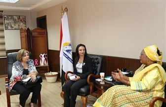 """مايا مرسي: جهود """"المجلس القومي"""" نجحت في مناهضة العنف ضد المرأة"""