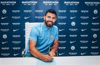 أجويرو يجدد تعاقده مع مانشستر سيتي حتى 2021