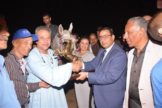 """تكريم المتسابقين الفائزين في مسابقة """"أدب الخيل"""" بمهرجان الخيول العربية بالشرقية"""