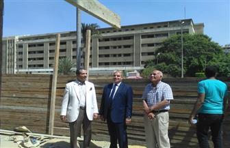 رئيس جامعة الأزهر يتابع الاستعدادات لبدء الدراسة والتسكين بالمدن الجامعية |صور