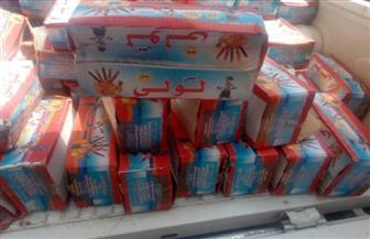 ضبط 2400 عبوة عصير وحلوى أطفال منتهية الصلاحية بالأقصر |صور
