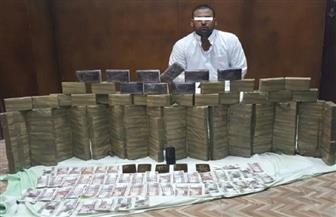 ضبط تاجر مخدرات بحوزته 550 طربة حشيش   فيديو