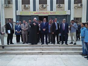 وزير الأوقاف ورئيس جامعة الأزهر يتفقدان كلية الدراسات الإسلامية