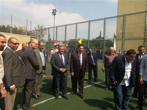 رئيس جامعة عين شمس: افتتاح صالة جيم بتكلفة 2 مليون جنيه خلال شهر أكتوبر| صور