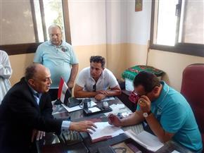 رئيس مدينة المحلة يشهد تسليم أرض مشروع محطة رفع الصرف الصحي ببلقينا | صور