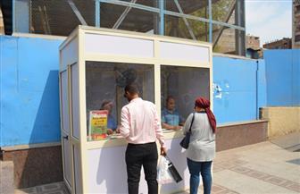 رئيس مترو الأنفاق يتابع إنشاء منافذ جديدة لصرف التذاكر بالمحطات| صور