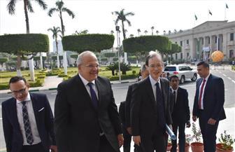 رئيس جامعة القاهرة يبحث مع سفير اليابان بالقاهرة أوجه التعاون المختلفة |صور