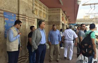 وزير النقل يتفقد مترو الأنفاق بالقاهرة والجيزة مع بداية العام الدراسي| صور