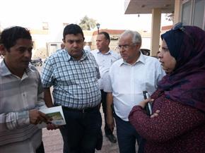 """وفد وزارة الصحة يزور الفيوم لبحث استعدادات حملة القضاء على فيروس """"سي"""" صور"""