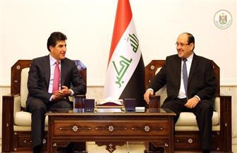 نوري المالكي ورئيس حكومة كردستان يبحثان تشكيل الكتلة الأكبر بالبرلمان العراقي