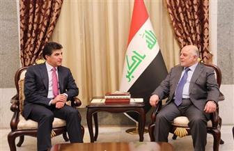 العبادي وبارزاني يناقشان الملفات المشتركة بين حكومتي بغداد وإقليم كردستان العراق