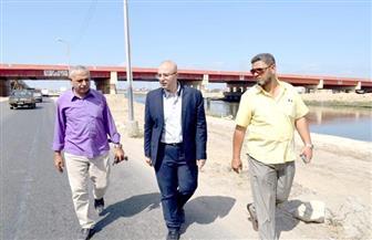 نائب محافظ بورسعيد يتفقد سير العمل بمحور ٣٠ يونيو ومستشفى بحر البقر | صور