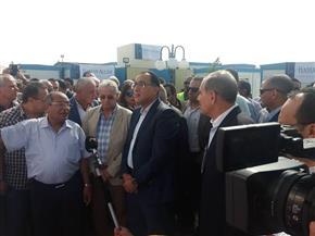 رئيس الوزراء يتفقد مشروع طريق هضبة أسيوط والتجمع العمراني لمدينة ناصر |صور