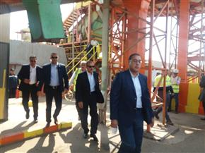 رئيس الوزراء يتفقد محطة صرف إسكندرية التحرير ومصنع تدوير القمامة بأسيوط |صور