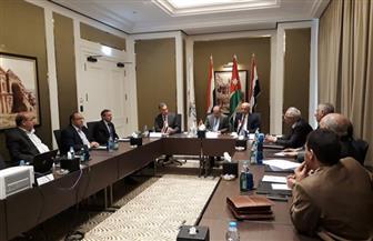 انعقاد الجمعية العمومية للجسر العربي في عمان بحضور وزراء نقل مصر والعراق والأردن | صور