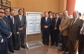 محافظ بني سويف ونائب وزير التعليم يفتتحان أول مدرسة مصرية يابانية بالمحافظة |صور