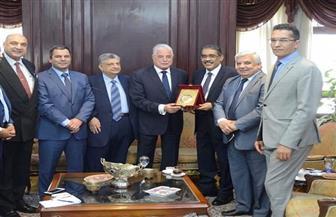 محافظ جنوب سيناء يلتقي رئيس الهيئة العامة للاستعلامات |صور