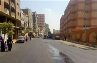 تطوير ورفع كفاءة الشوارع بحي بولاق الدكرور | صور