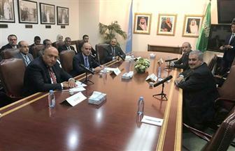 اجتماع خماسي لوزراء الخارجية العرب بنيويورك لمناقشة أزمات المنطقة