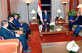 الرئيس السيسي يستقبل وزير خارجية الإمارات بمقر إقامته بنيويورك