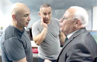 محافظ بورسعيد يهنئ المصري وجماهيره بالتأهل للدور قبل النهائي بالكونفدرالية