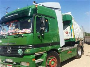 ضبط سيارة محملة بـ50 طن أسمدة زراعية مدعمة قبل تهريبها في الشرقية