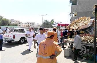 حملة لمراجعة تراخيص الأكشاك في حي شرق مدينة نصر