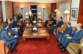 خلال لقائه الرئيس السيسي.. رئيس البنك الدولي: مصر نجحت في تنفيذ الإصلاح الاقتصادي تحت قيادة حكيمة