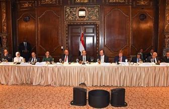 تفاصيل لقاء الرئيس السيسي بوفد غرفة التجارة الأمريكية لبحث فرص الاستثمار في مصر| صور
