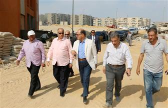 محافظ القاهرة يتابع سير أعمال المرحلة الثالثة من مشروع الأسمرات| صور