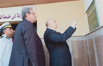 افتتاح نقطتي شرطة وإطفاء بحي الأسمرات | صور