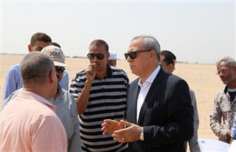 محافظ قنا: الرئيس عبد الفتاح السيسي يمنح 2445 فدانا لأهالي المراشدة | صور
