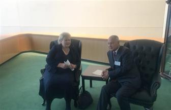 أبوالغيط يبحث مع رئيسة وزراء النرويج دعم الفلسطينيين وتوفير الموارد اللازمة لوكالة الأونروا