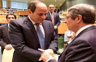 الرئيس السيسي يلتقي رئيس قبرص على هامش اجتماعات الجمعية العامة للأمم المتحدة