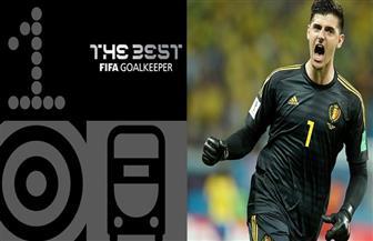 """البلجيكي كورتوا يفوز بجائزة """"فيفا"""" لأفضل حارس مرمى في العالم لعام 2018"""
