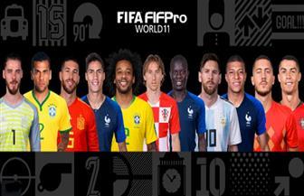 التشكيلة المثالية لأفضل 11 لاعبا في العالم 2018 | صور