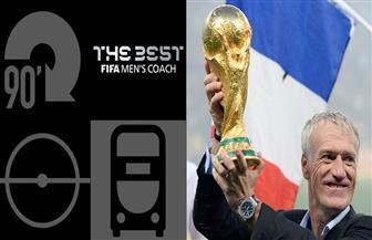 ديديه ديشامب يفوز بجائزة أفضل مدرب في العالم
