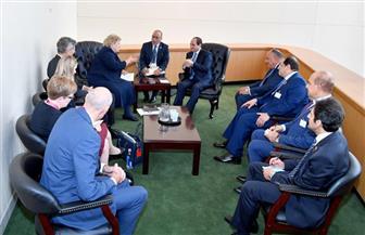 تفاصيل لقاء الرئيس السيسي برئيسة وزراء النرويج على هامش اجتماعات الجمعية العامة للأمم المتحدة