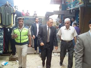 محافظ الشرقية يأمر بإزالة المطبات العشوائية ورفع كفاءة الطريق بشارع فاروق