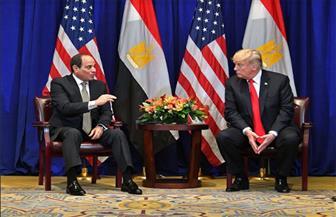 الرئيس السيسي لترامب: حريصون على التعاون مع الولايات المتحدة للتصدي للتنظيمات الإرهابية |صور
