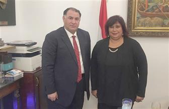 إيناس عبدالدايم توافق على إنشاء قصر ثقافة بمدينة زفتى