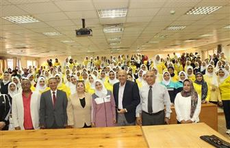 نائبا رئيس جامعة طنطا يتفقدان سير العملية التعليمية بمجمع كليات سبرباي | صور