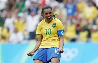 رقم قياسي لمارتا أسطورة الكرة النسائية البرازيلية والأفضل فى العالم للمرة الـ13