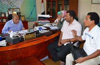رئيس مياه الشرب بالفيوم: حل 560 شكوى خلال لقاءات المواطنين على مدى عام | صور
