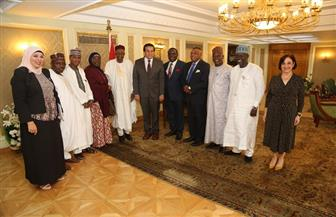 وزير التعليم العالي يبحث مع وفد الهيئة القومية للجامعات النيجيرية سبل التعاون   صور