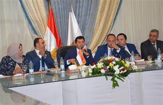 وزير الشباب والرياضة فى حوار مفتوح مع شباب مجلس النواب |صور