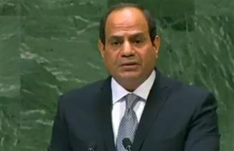 """""""حماة الوطن"""": حديث الرئيس أمام الأمم المتحدة عكس رؤية مصر نحو ضرورة استدامة السلام العالمي"""