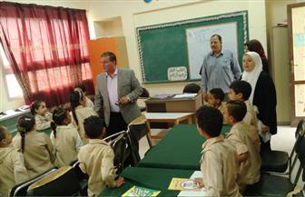 إحالة 16 معلما في الفيوم للتحقيق لتغيبهم عن طابور الصباح | صور