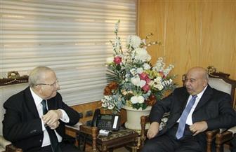 وزير العدل يلتقي السفير الكويتى لبحث تعزيز التعاون القضائى